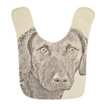 Chesapeake Bay Retriever Polyester Baby Bib