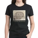 Chesapeake Bay Retriever Women's Dark T-Shirt