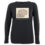 Chesapeake Bay Retriever Plus Size Long Sleeve Tee