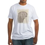 Chesapeake Bay Retriever Fitted T-Shirt