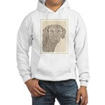 Chesapeake Bay Retriever Hooded Sweatshirt