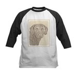 Chesapeake Bay Retriever Kids Baseball Jersey