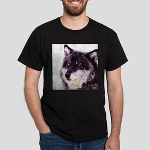 Nira Portrait Black T-Shirt