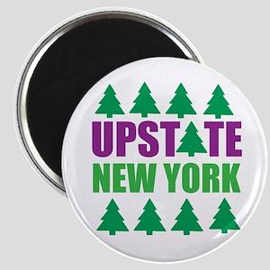 UPSTATE NEW YORK - PINE TREES Magnet