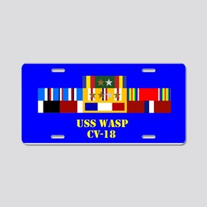 USS Wasp CV-18 Aluminum License Plate