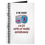 I'm Not 50... Journal