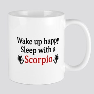 Sleep with a Scorpio Mugs