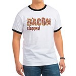 Bacon Slapped Ringer T