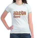 Bacon Slapped Jr. Ringer T-Shirt