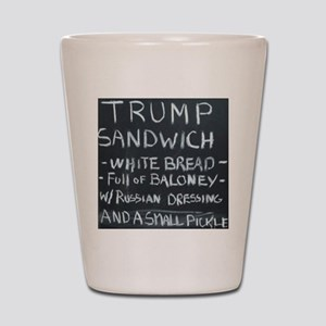 Trump Sandwich Shot Glass