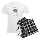 I'm Not 40 Men's Light Pajamas
