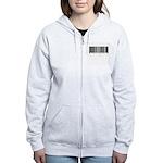 Barcode - Priced Just Right Women's Zip Hoodie