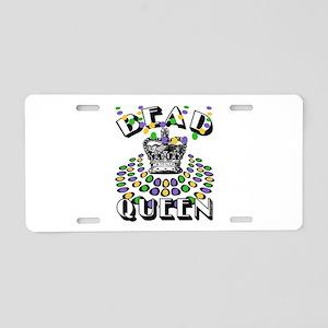 Queen of Beads Aluminum License Plate