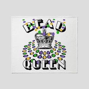Queen of Beads Throw Blanket