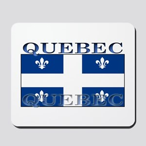 Quebec Quebecer Flag Mousepad