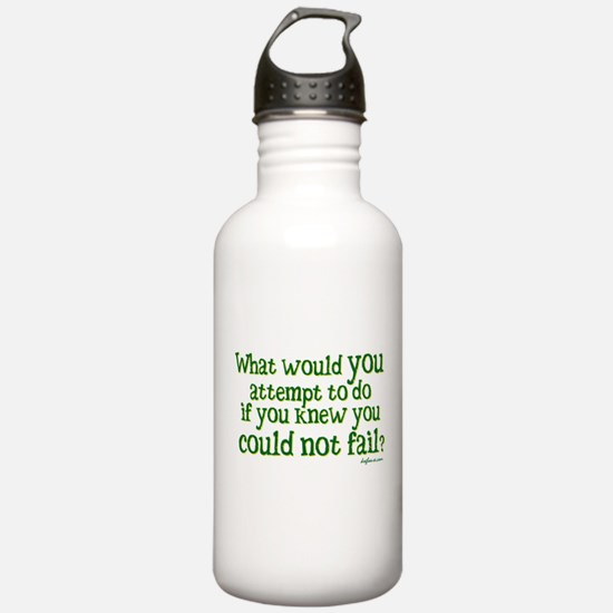 What Would Water Bottle