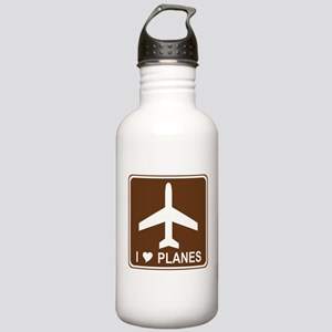 I Love Planes Stainless Water Bottle 1.0L