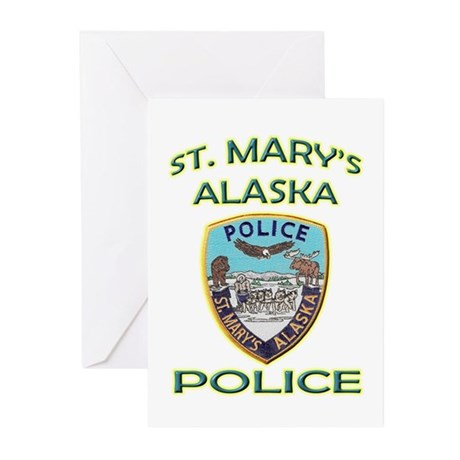 St. Mary's Police Department Greeting Cards (Pk of
