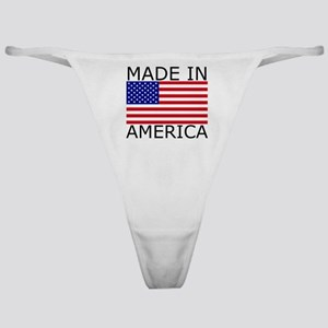 American Flag Classic Thong