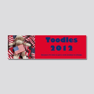 Toodles Car Magnet 10 x 3
