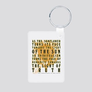 Declaration Aluminum Photo Keychain