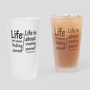 Life Isn't About Pint Glass