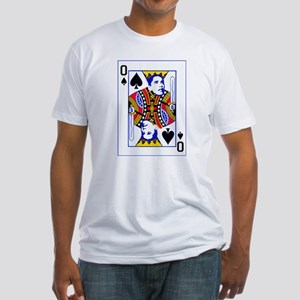 Obama Playing Card Fitted T-Shirt