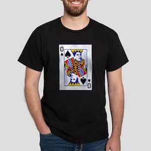 Obama Playing Card Dark T-Shirt