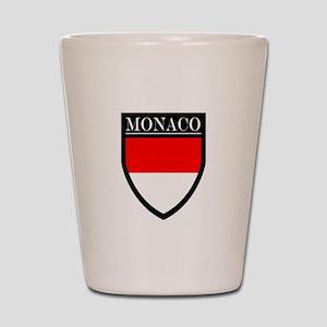 Monaco Flag Patch Shot Glass