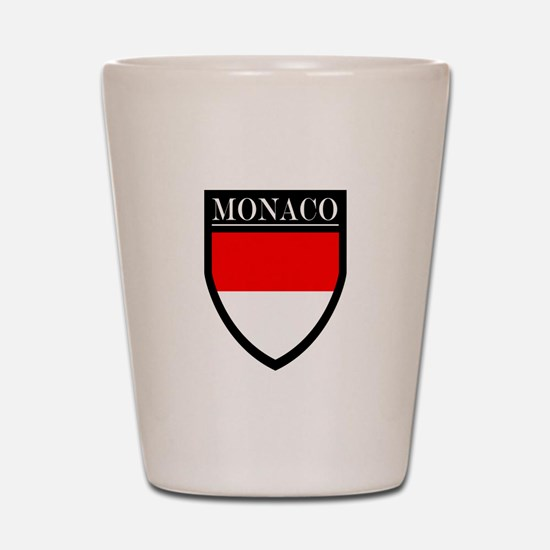 Monaco Flag Patch Shot Glass