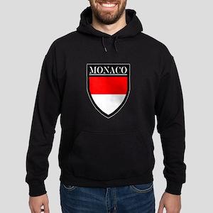 Monaco Flag Patch Hoodie (dark)