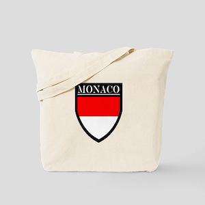 Monaco Flag Patch Tote Bag