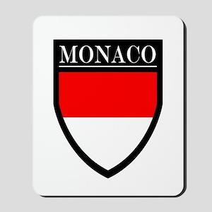 Monaco Flag Patch Mousepad