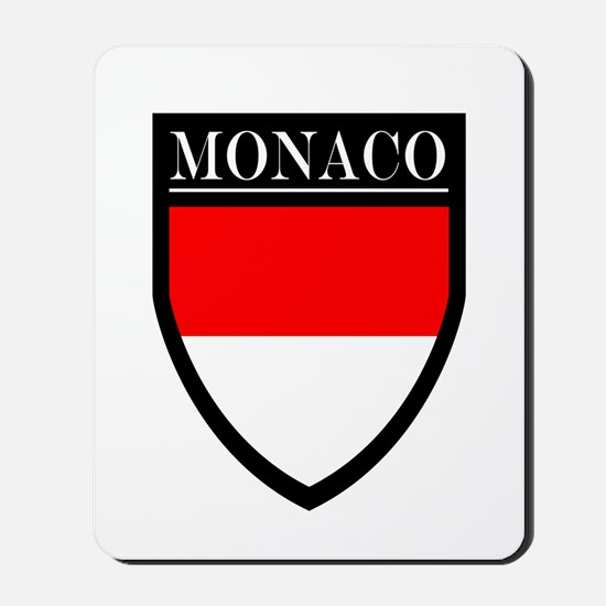 Monaco Flag Patch Mousepad