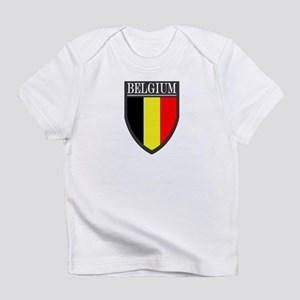 Belgium Flag Patch Infant T-Shirt