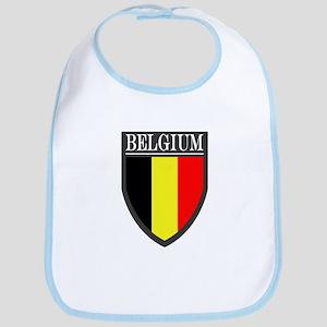 Belgium Flag Patch Bib