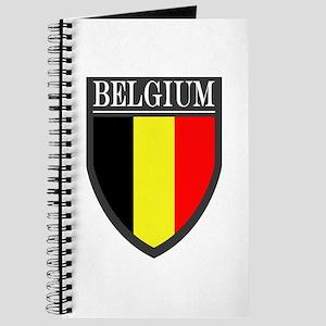 Belgium Flag Patch Journal