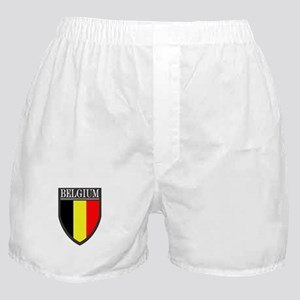 Belgium Flag Patch Boxer Shorts