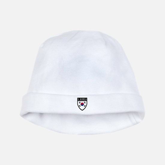 South Korea Flag Patch baby hat