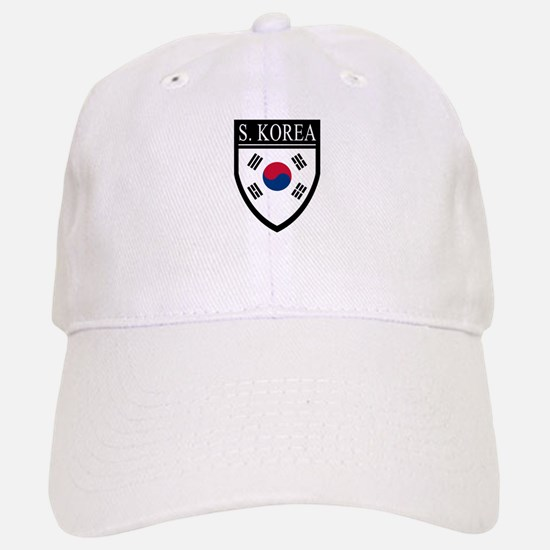 South Korea Flag Patch Baseball Baseball Cap