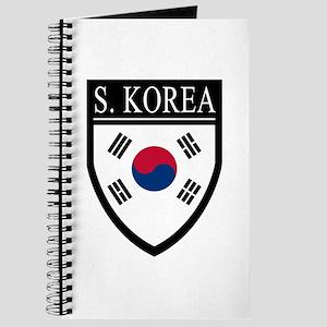 South Korea Flag Patch Journal