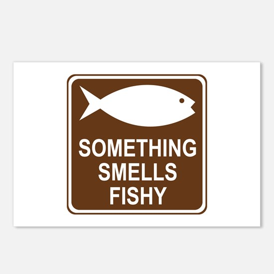 Something Smells Fishy Postcards (Package of 8)