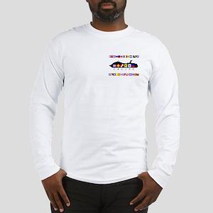 Cruise Signal Flags-b Long Sleeve T-Shirt