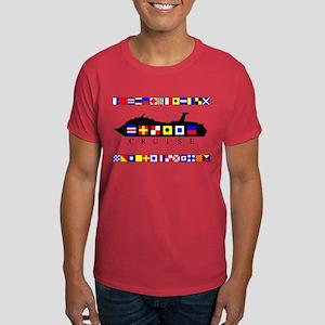 Cruise Signal Flags-b Dark T-Shirt