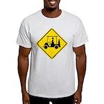 Caution Golf Cart Crossing Light T-Shirt