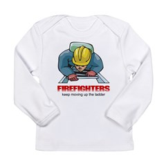 Keep Moving Up The Ladder Long Sleeve Infant T-Shi