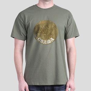 Vintage Obama Medieval Dark T-Shirt