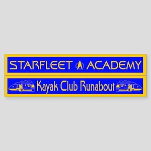 Starfleet Kayak Club Sticker (Bumper)