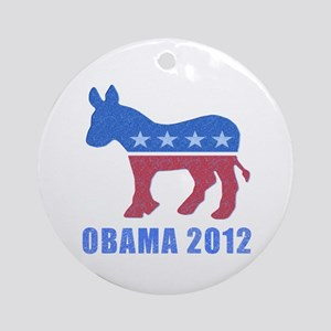 Obama 2012 Ornament (Round)