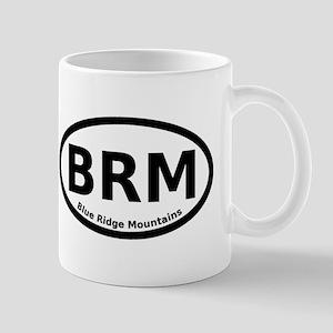 Blue Ridge Mountains Oval Mug